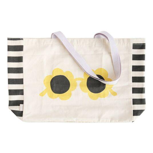 Glasses Canvas Tote Bag