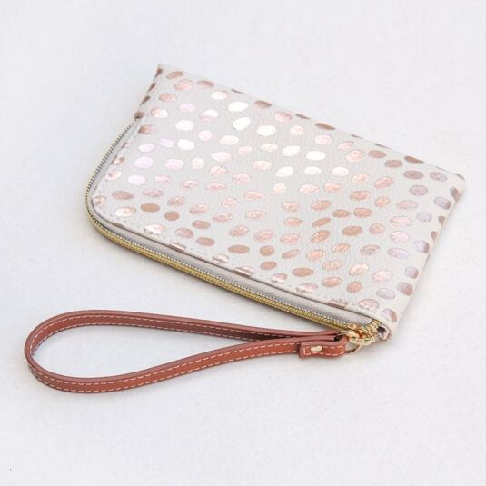 Wanderlust Metallic Essential Wristlet Purse