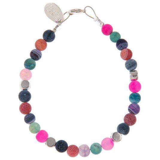 Agate Medley Full Bracelet