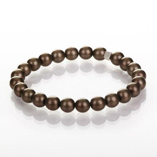 Chocolate Harmony Pearl Bracelet