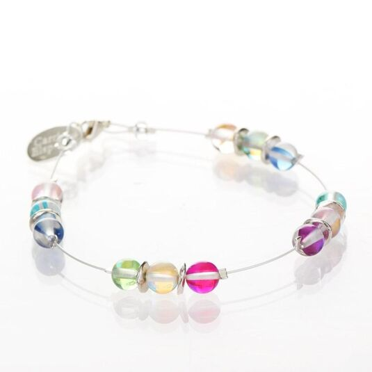 Halo Spaced Bracelet