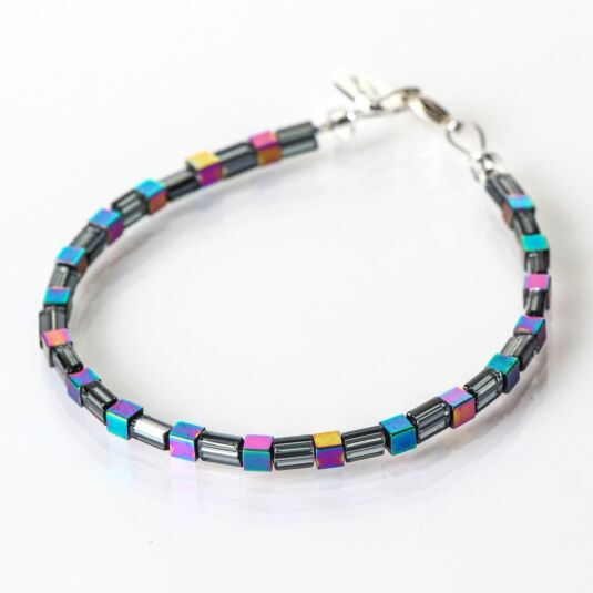 Graphite Gleam Bracelet