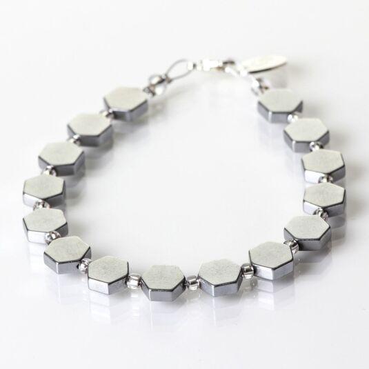 Silver Hive Bracelet