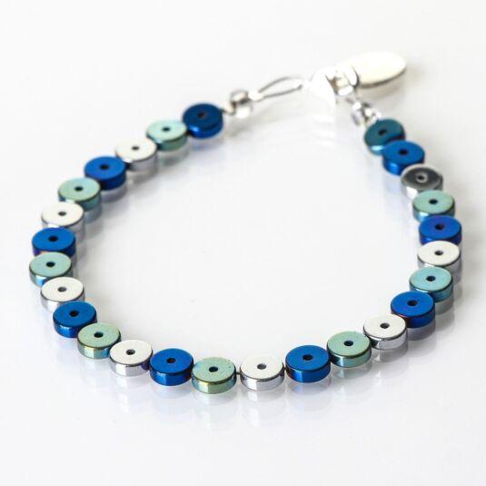 Blue Platters Bracelet