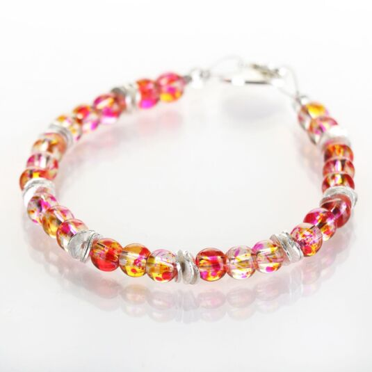 Peach Splashes Bracelet