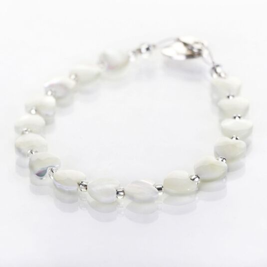 Shell Hearts Bracelet