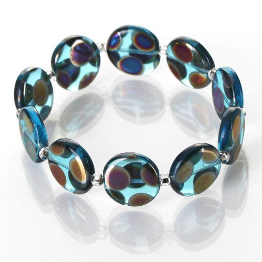 Turquoise Dotty Puddles Bracelet