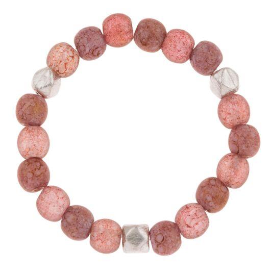 Blush Mottles Bracelet