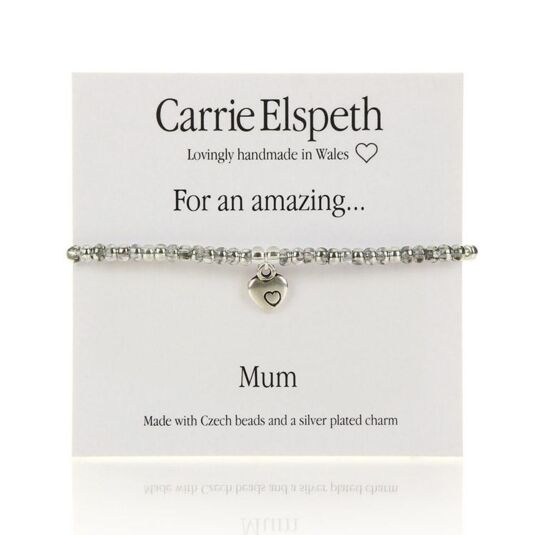 Amazing Mum Sentiment Bracelet
