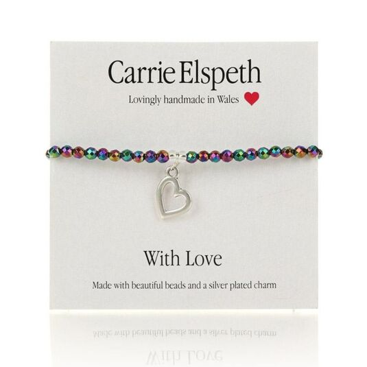With Love Sentiment Bracelet