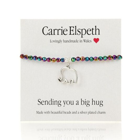 Sending You A Big Hug Sentiment Bracelet