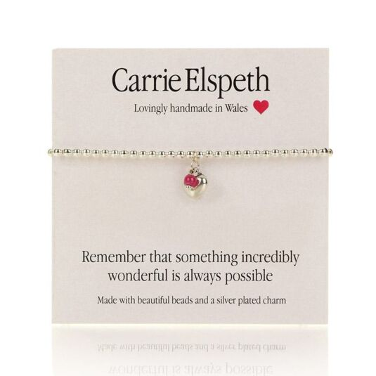 Something Wonderful Sentiment Bracelet