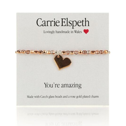 You're Amazing Sentiment Bracelet
