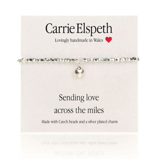 Sending Love Sentiment Bracelet