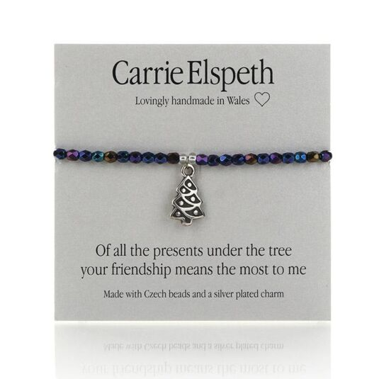 Of All The Presents Sentiment Bracelet