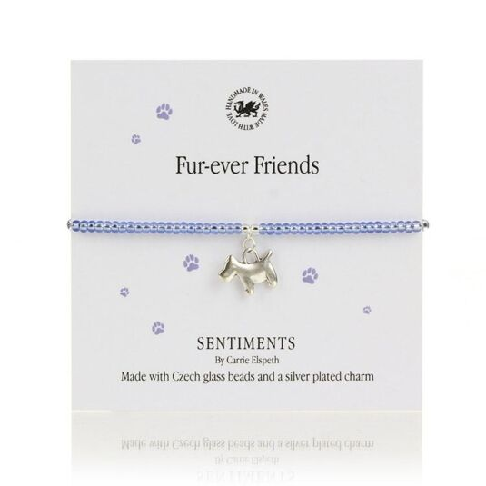 Fur-ever Friends Sentiments Bracelet
