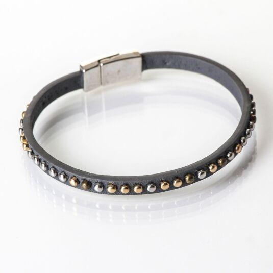 Slate Rivet Bracelet