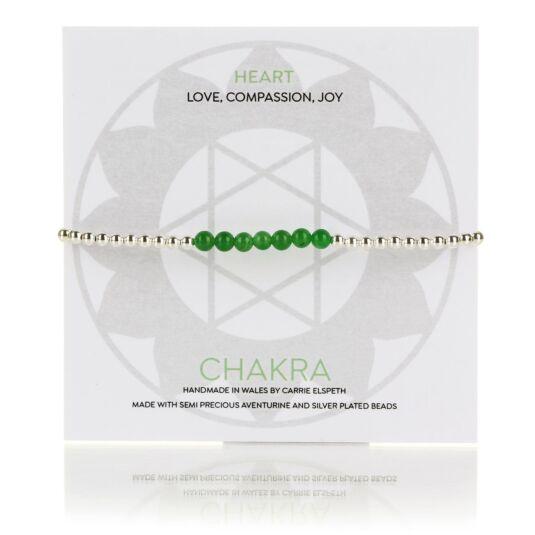 Heart Chakra Beaded Bracelet