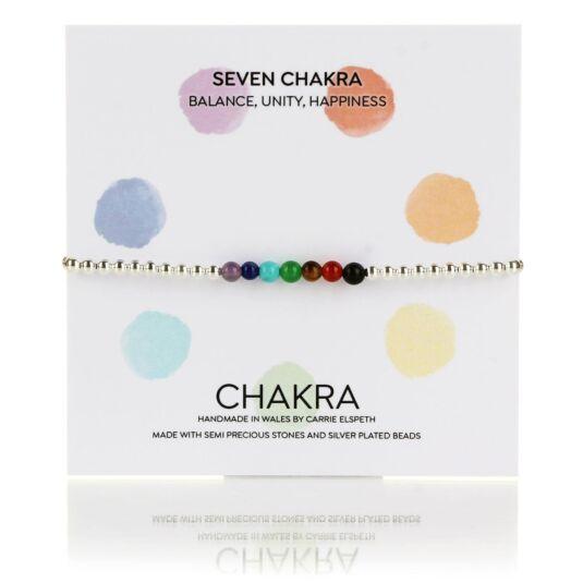 Seven Chakra Unity Beaded Bracelet