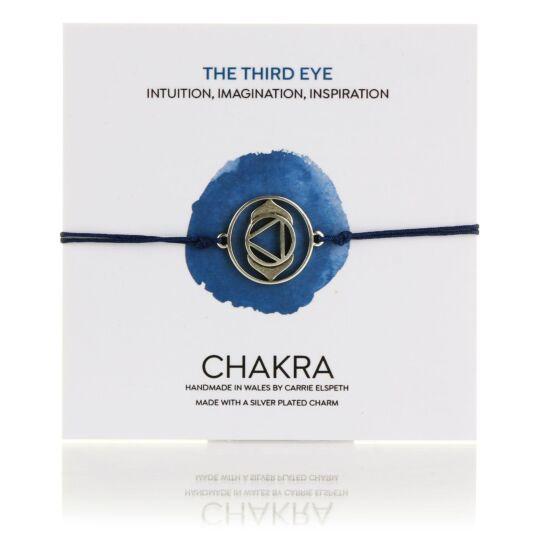 Third Eye Chakra Corded Bracelet