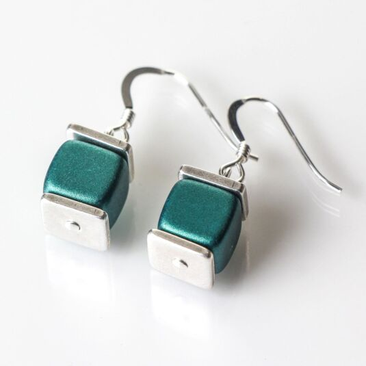 Green Deluxe Earrings