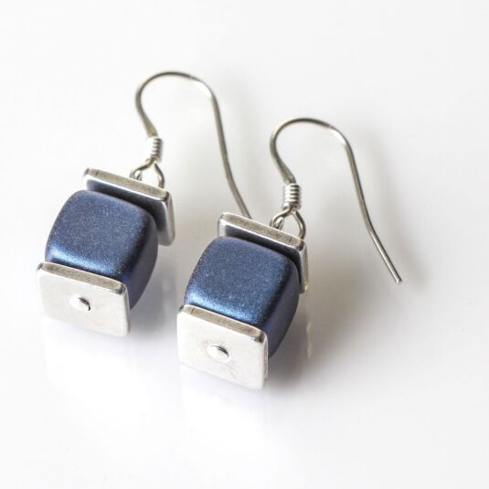 Slate Blue Deluxe Earrings