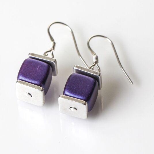 Purple Deluxe Earrings
