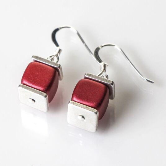 Red Deluxe Earrings