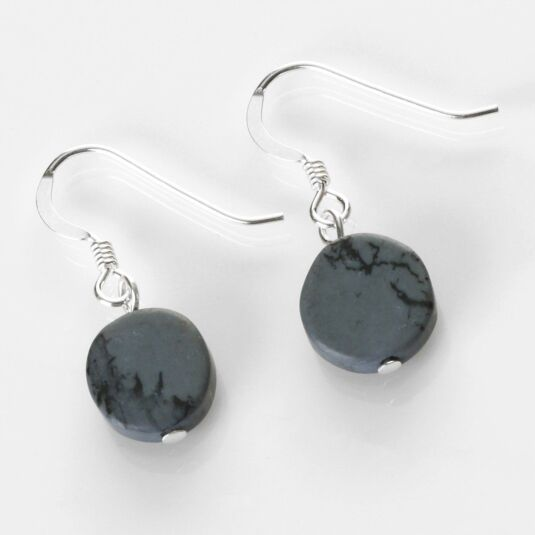 Raincloud Mosaic Coins Earrings