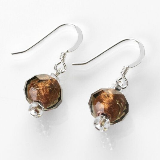 Bronze Autumn Radiance Earrings