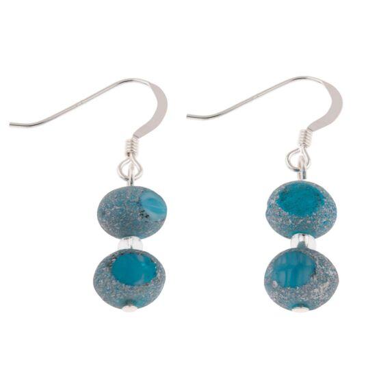 Turquoise Meteor Earrings