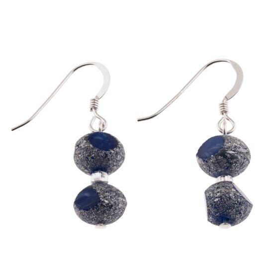 Blue Meteor Earrings