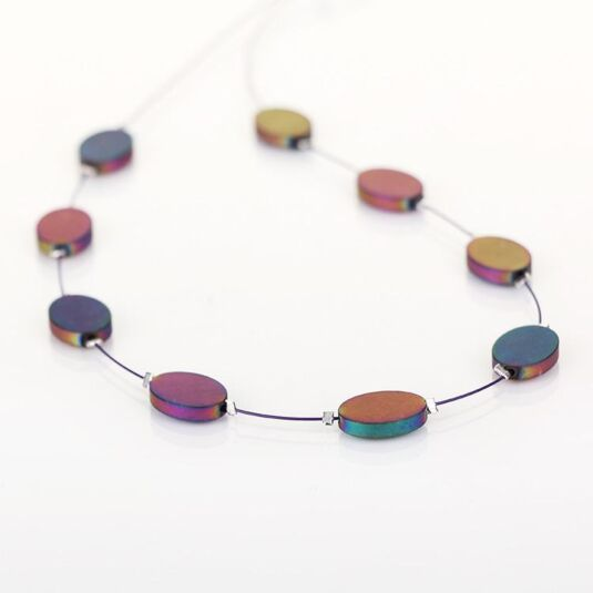 Rainbow Opus Necklace