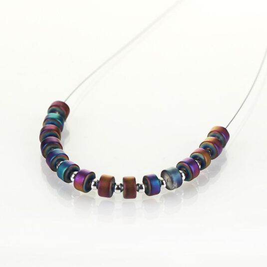 Rainbow Infinity Links Necklace - Exclusive to Temptation Gifts!