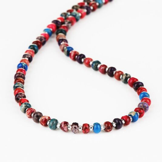 Marbled Carnival Full Necklace