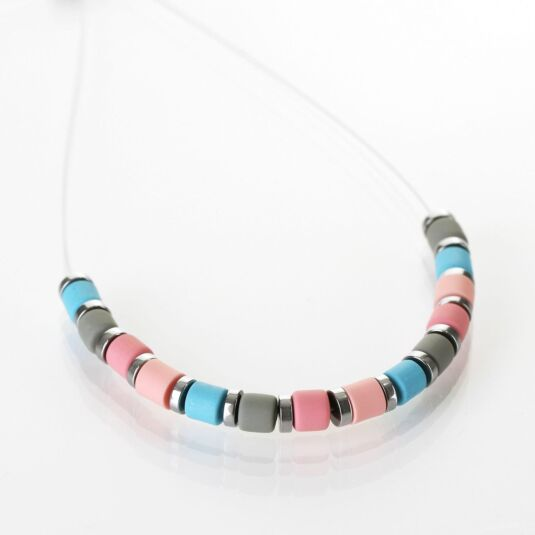 Multi Earthtones Necklace