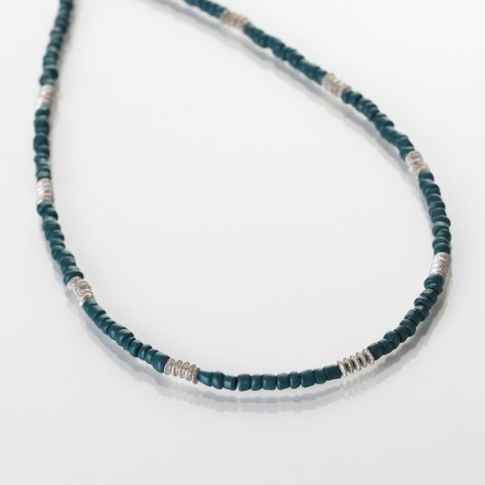 Teal Aztec Necklace