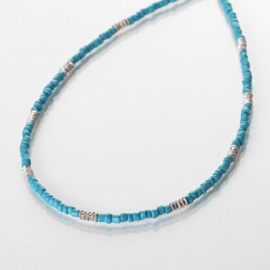 Turquoise Aztec Necklace