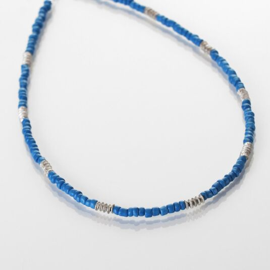 Blue Aztec Necklace