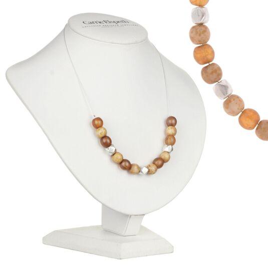 Mustard Mottles Necklace