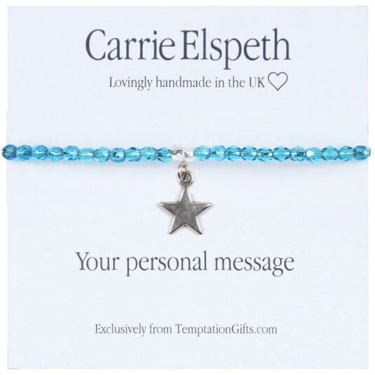 Personalised Sentiment Bracelet