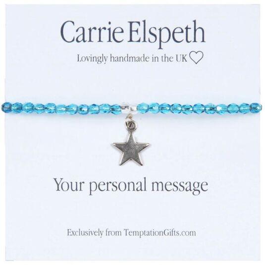 Personalised Sentiment Bracelet