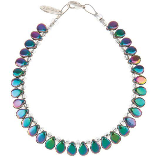 Spectrum Teardrop Bracelet