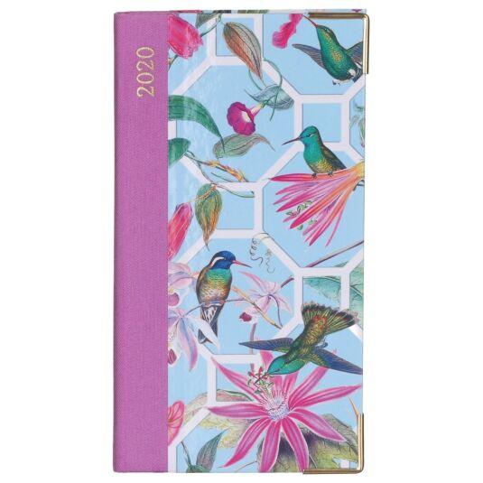 Hummingbird Trellis 2020 Slim Diary