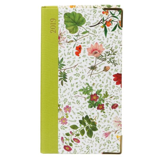 English Country Garden 2019 Slim Diary