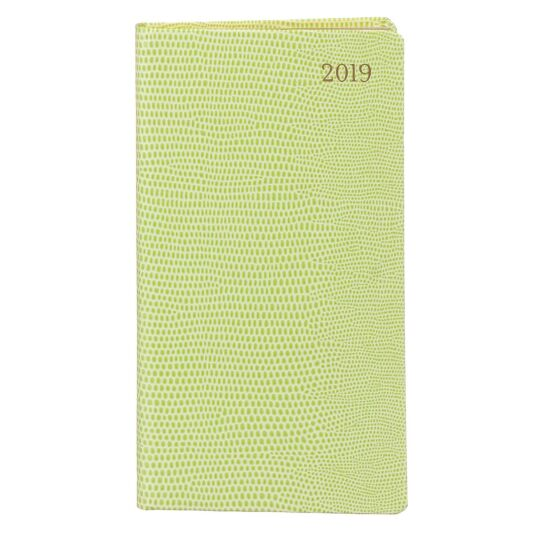 Green Lizard 2019 Slim Diary