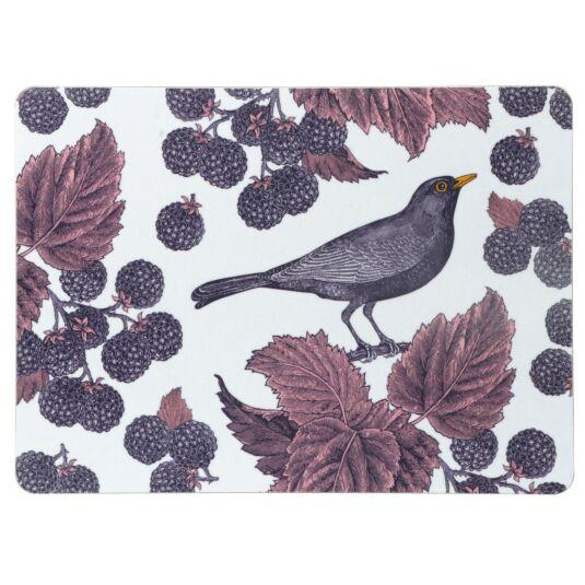 Blackbird & Bramble Set of 4 Placemats