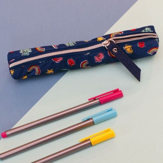 Good Luck Charms Skinny Pencil Case