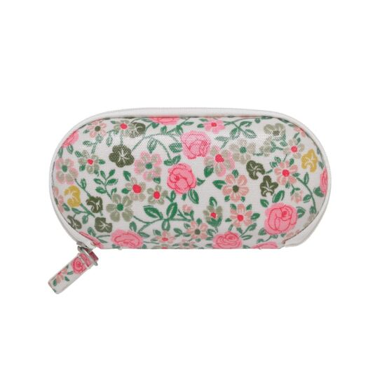 Hedge Rose Zip Around Glasses Case