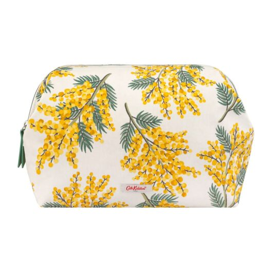 Mimosa Flowers Frame Wash Bag